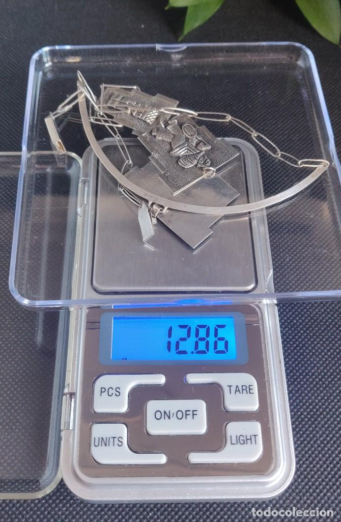 Joyeria: Collar antiguo Prehispánico de plata 900 - Foto 8 - 272784093