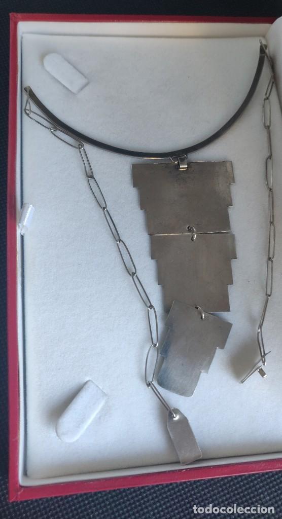Joyeria: Collar antiguo Prehispánico de plata 900 - Foto 9 - 272784093