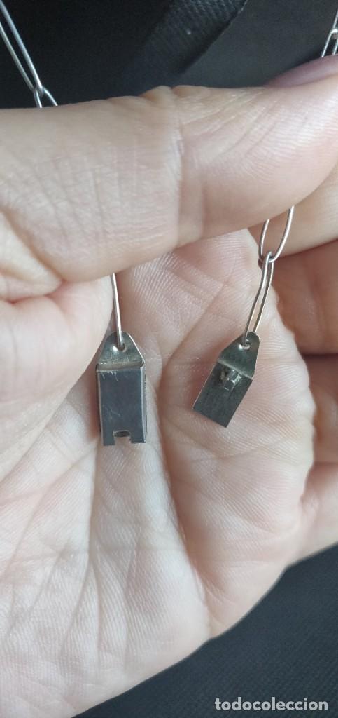 Joyeria: Collar antiguo Prehispánico de plata 900 - Foto 11 - 272784093