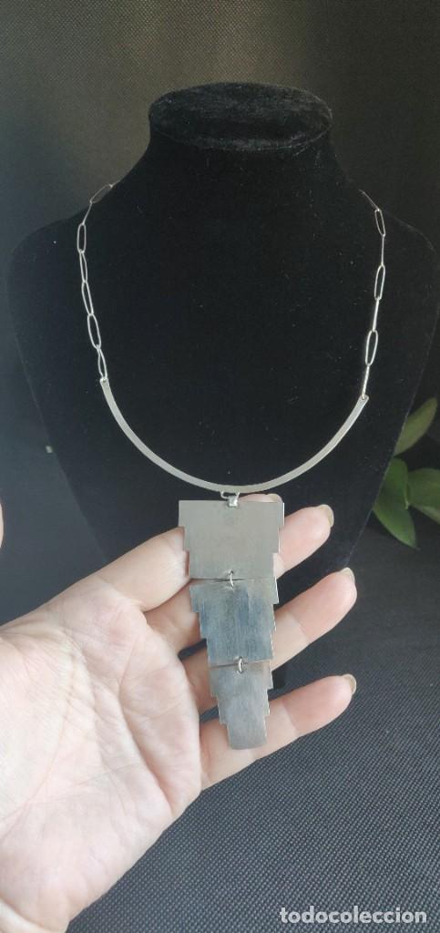 Joyeria: Collar antiguo Prehispánico de plata 900 - Foto 15 - 272784093