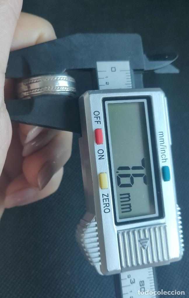 Joyeria: Anillo Spiner Anti estrés n° 15 equivalente a 17.5 mm. - Foto 9 - 272789413