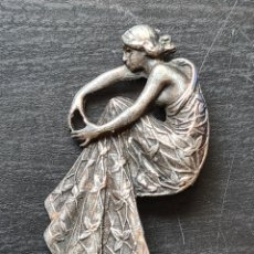 Joalheria: BROCHE MODERNISTA DE PLATA - ART NOUVEAU - JOYERÍA. Lote 272991968