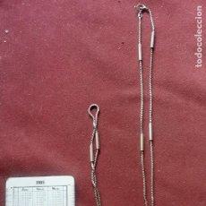 Joalheria: CADENA LARGA DE PLATA CONTRASTADA DE 925. Lote 273746988