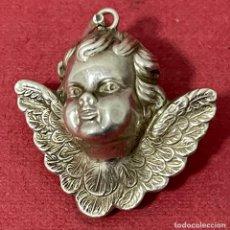 Gioielleria: BONITO COLGANTE DE PLATA DE LEY, EN FORMA DE ANGELITO.. Lote 274538843