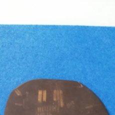Joyeria: ANTIGUA PIEDRA DE TOQUE CON MULTIPLES HUELLAS DE ORO. 15,5X12,5 CM.. Lote 275210938