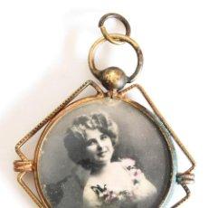 Joyeria: ANTIGUO Y MUY BONITO PORTAFOTOS 1910-1920. FUERTE BAÑO DE ORO.. Lote 276300438