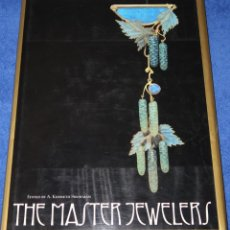 Joyeria: THE MASTER JEWELERS - A. KENNETH SNOWMAN - THAMES AND HUDSON (2002). Lote 277201278