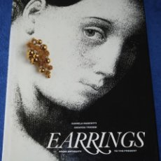 Joyeria: EARRINGS - FROM ANTIQUITY TO PRESENT - DANIELA MASCETTI - AMANDA TRIOSSI - THAMES & HUDSON (1990). Lote 277203583