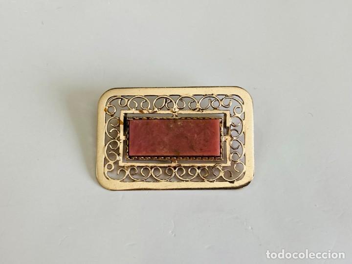 BROCHE DE PLATA 875 URSS (Joyería - Broches Antiguos)