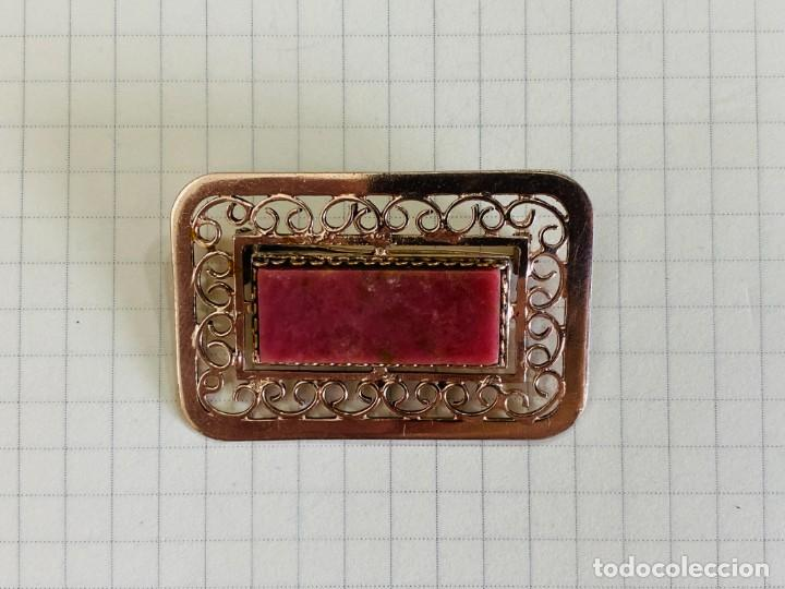Joyeria: broche de plata 875 URSS - Foto 4 - 277432798