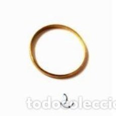 Joyeria: ANILLO CIRCULAR ELABORADO EN ORO DE 750 MILÉSIMAS. PESO: 1 GRAMO. Lote 280127648