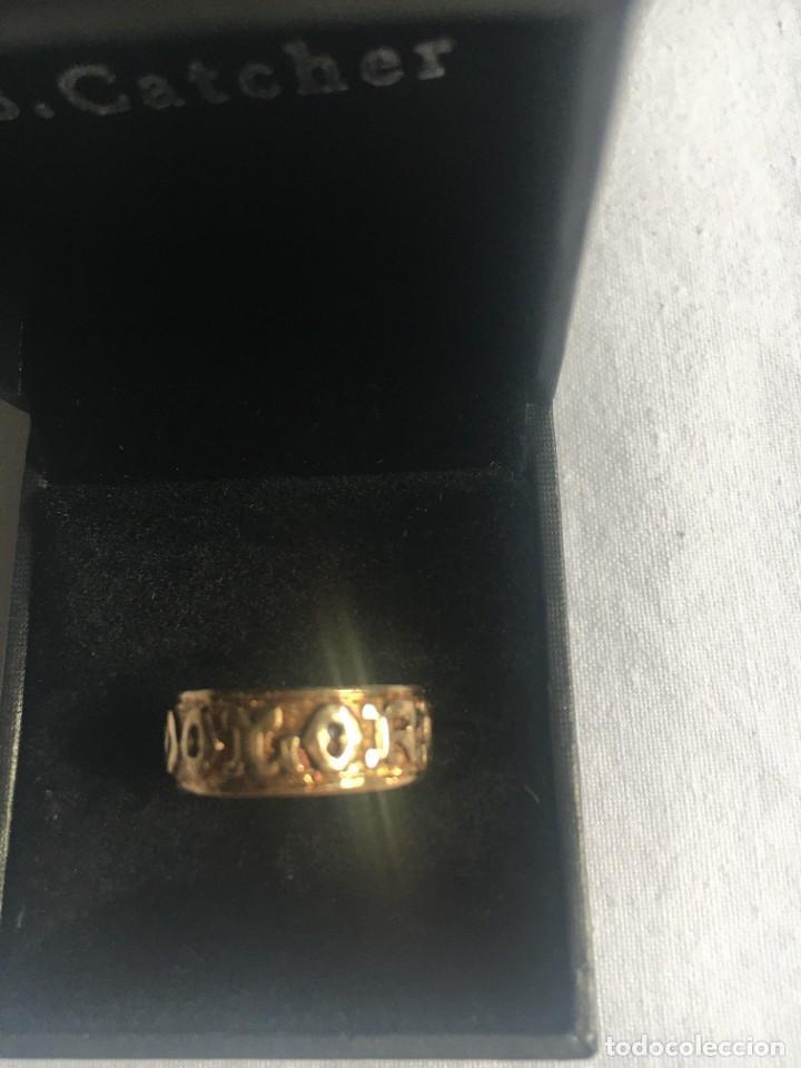 Joyeria: ANILLO CIRCULAR ELABORADO DE FORMA ARTESANAL . Oro de 750 milésimas. Peso 4,1 gr - Foto 2 - 280128503