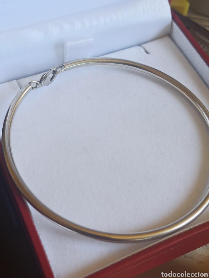 Joyeria: Pulsera rígida plata de ley 925 - Foto 3 - 282049618