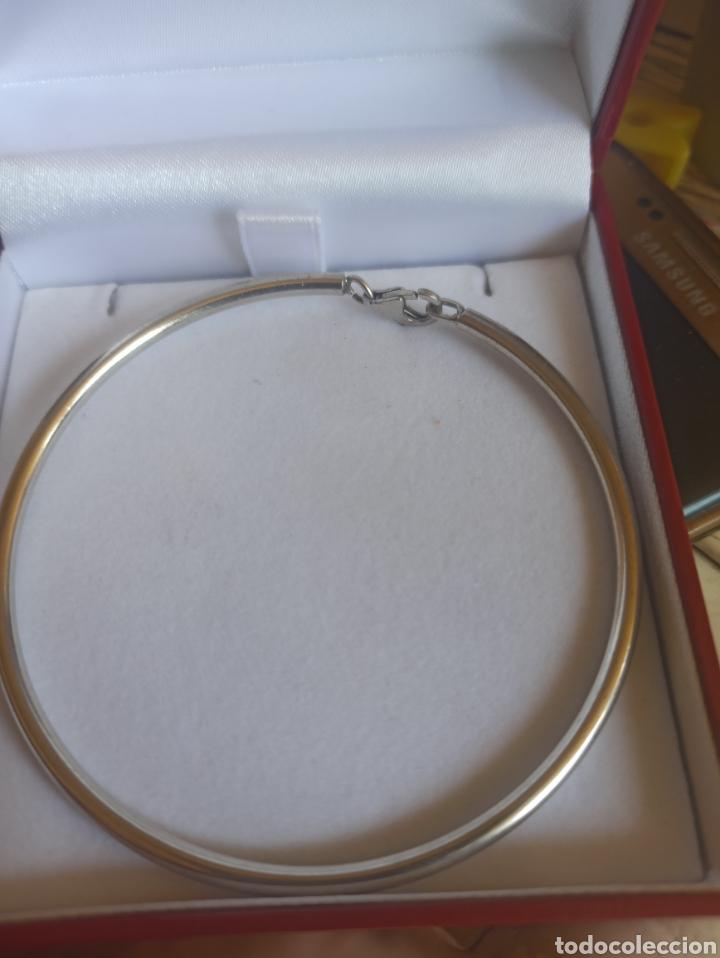 Joyeria: Pulsera rígida plata de ley 925 - Foto 5 - 282049618