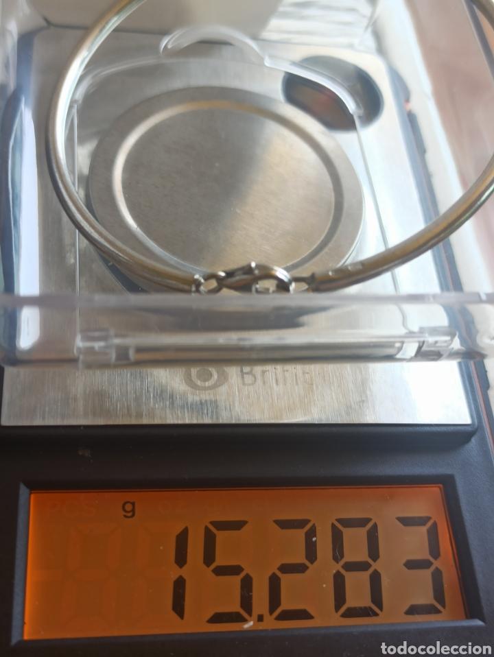 Joyeria: Pulsera rígida plata de ley 925 - Foto 6 - 282049618
