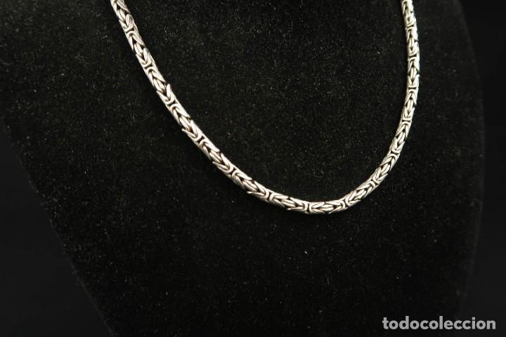 Joyeria: Antigua Gargantilla de Plata - Foto 2 - 283090618