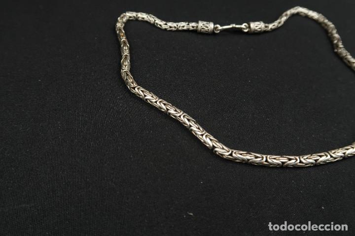 Joyeria: Antigua Gargantilla de Plata - Foto 8 - 283090618