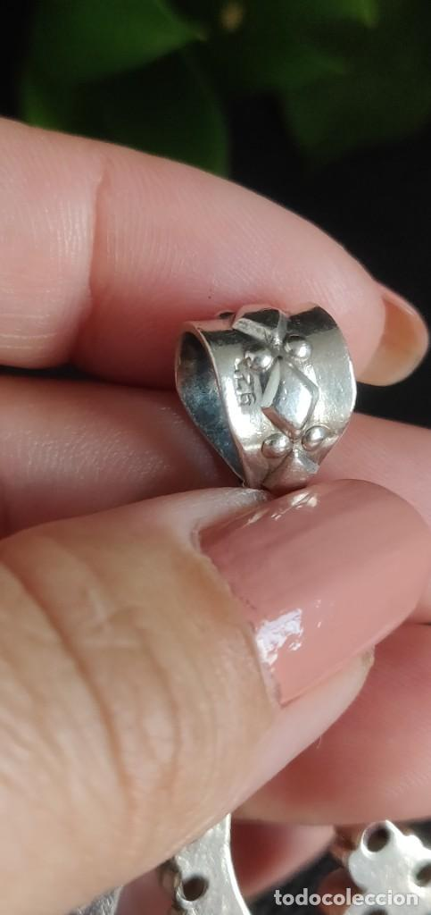 Joyeria: Colgante de plata esterlina 925 y 45 Amatistas. - Foto 5 - 283093223