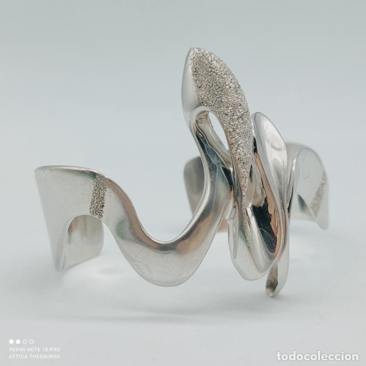 Joyeria: Sofisticado y original brazalete de diseño exclusivo en plata de ley maciza 925 . - Foto 2 - 284412003