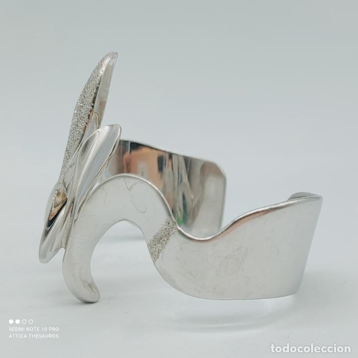 Joyeria: Sofisticado y original brazalete de diseño exclusivo en plata de ley maciza 925 . - Foto 5 - 284412003