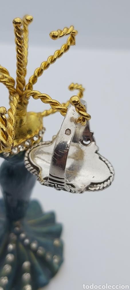 Joyeria: Anillo Vintage con Cornalina en plata de ley - Foto 2 - 288149903
