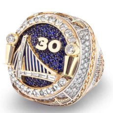 Joalheria: NBA GOLDEN STATE WARRIORS CHAMPIONSHIP RING ANILLOS BRILLANTES DE DIAMANTES 3D. Lote 288296883