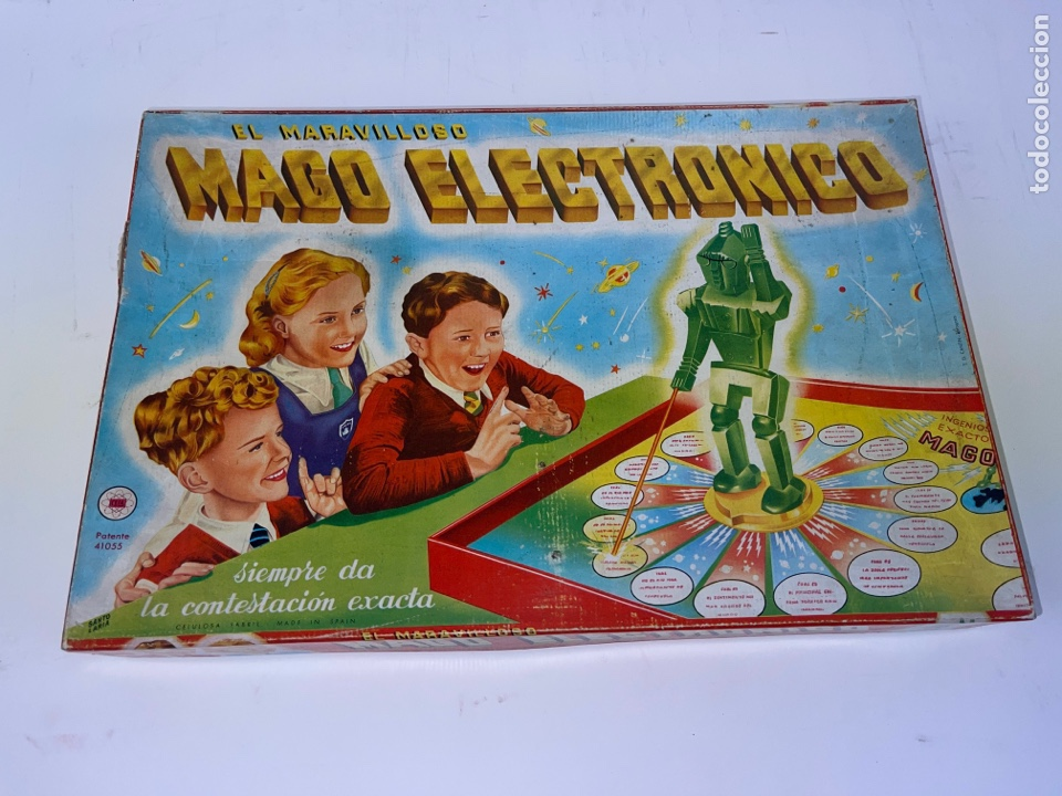 JUEGO DE MESA EL MARAVILLOSOS MAGO ELECTRONICO. (Joyería - Cadenas Antiguas)
