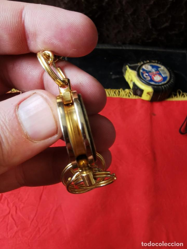 Joyeria: Cadena con dije para llaves o reloj de bolsillo. Moneda Lincoln. 1909.leer bien el anuncio - Foto 11 - 289685193