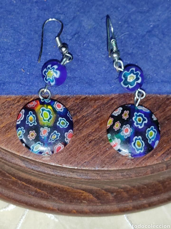 Joyeria: Pendientes de cristal Millefiori o murano - Foto 3 - 289768253
