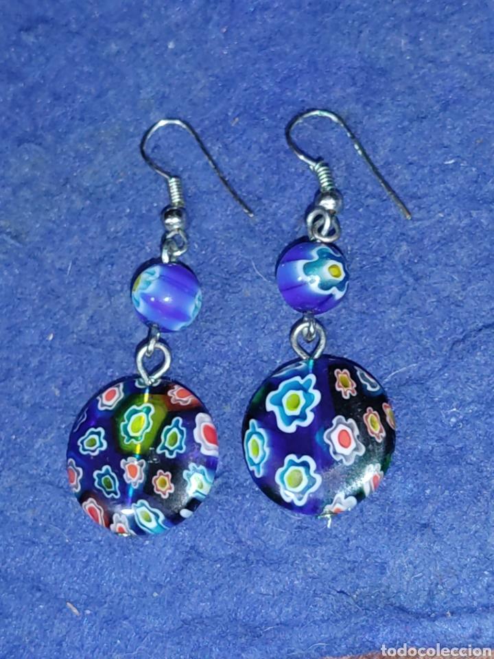 Joyeria: Pendientes de cristal Millefiori o murano - Foto 7 - 289768253