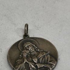 Joyeria: MEDALLA DE PLATA RELIGIOSA. Lote 292552483