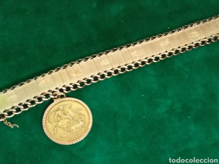 Joyeria: Pulsera con colgante oro 18K.- 31 grs - Foto 3 - 287672683