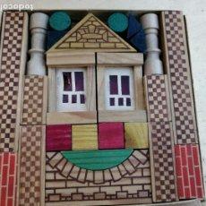 Juegos antiguos de construcción: ANTIGUA CAJA CONSTRUCCION ALEMANA 15X15CM. Lote 210401825