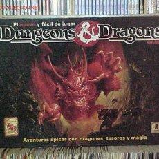 Juegos Antiguos: JUEGO TBLERO-ROL DUNGEONS & DRAGONS. Lote 478192