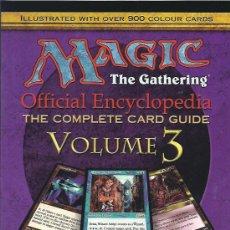 Juegos Antiguos: MAGIC ENCICLOPEDIA VOLUMEN 3. Lote 16686185
