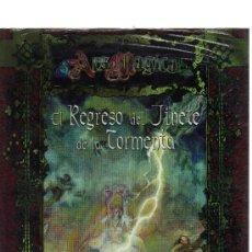Juegos Antiguos: ARS MAGICA - EL REGRESO DEL JINETE DE LA TORMENTA. Lote 22011846