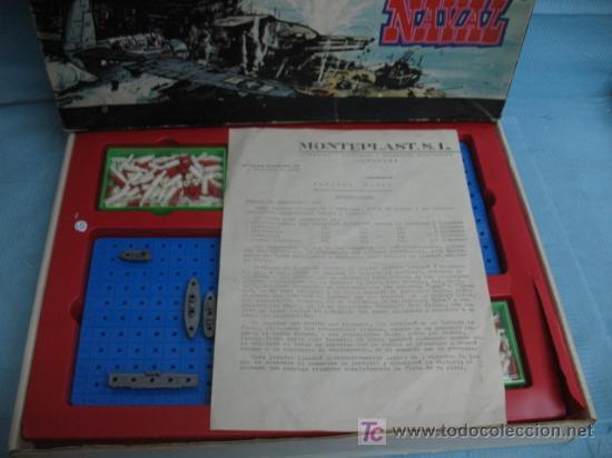 Juegos Antiguos: (MONTEPLAST) JUEGO BATALLA NAVAL - Foto 2 - 18549191