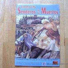 Juegos Antiguos: ERECH Y LOS SENDEROS DE LOS MUERTOS - EL SEÑOR DE LOS ANILLOS - JOC INTERNACIONAL - JUEGO DE ROL. Lote 26290239