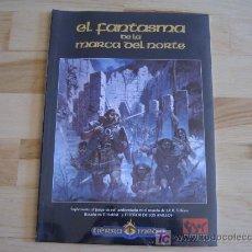 Juegos Antiguos: EL FANTASMA DE LA MARCA DEL NORTE EL SEÑOR DE LOS ANILLOS - JOC INTERNACIONAL - DESCATALOGADO! - ROL. Lote 26290236