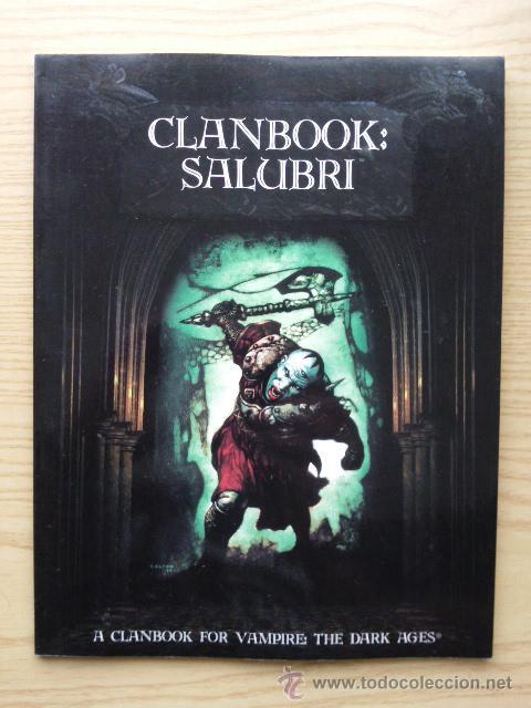 GLANDBOOK: SALUBRI - A GLANDBOOK FOR VAMPIRE: THE DARK AGES - ROL (Juguetes - Rol y Estrategia - Juegos de Rol)