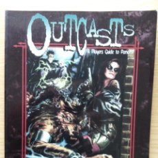 Juegos Antiguos: OUTCASTS - A PLAYERS GUIDE TO PARIAHS - THE WORLD OF DARKNESS - ROL. Lote 26608895