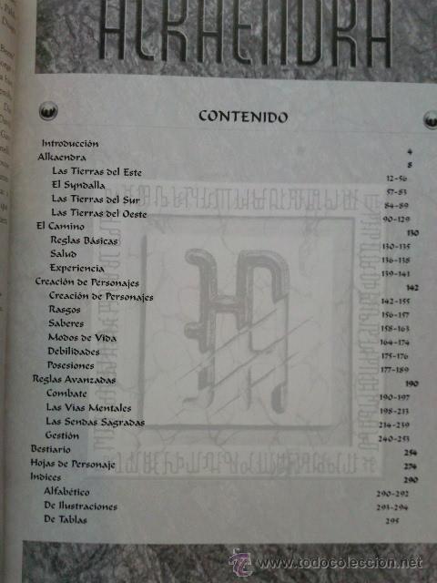 Juegos Antiguos: ALKAENDRA - LOS SUEÑOS PERDIDOS - FRANCISCO J. RIO LORDA - PUBLICADO POR ALKAENDRA - ROL - Foto 2 - 28752396