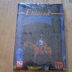 Juegos Antiguos: RUNEQUEST - LA CIUDAD PERDIDA DE ELDARAD - JOC INTERNACIONAL 1993 REF. 215 - JUEGO DE ROL. Lote 26469386