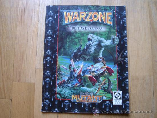 WARZONE - BESTIAS DE GUERRA - MUTANT CHRONICLES - JUEGO DE MINIATURAS - TARGET GAMES (Juguetes - Rol y Estrategia - Juegos de Rol)