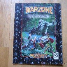 Juegos Antiguos: WARZONE - BESTIAS DE GUERRA - MUTANT CHRONICLES - JUEGO DE MINIATURAS - TARGET GAMES. Lote 27162739