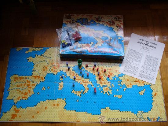 Las Grandes Batallas Del Mediterraneo Juego De Comprar En