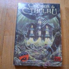 Juegos Antiguos: LA LLAMADA DE CTHULHU - LA CRIDA DE CTHULHU EDICIÓN EN CATALAN - EL JUEGO DE ROL - JOC INTERNACIONAL. Lote 27549395