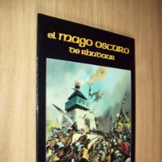 Juegos Antiguos: LIBRO DE ROL - EL MAGO OSCURO DE RHUDAUR - ED. JOC 1995 - RUSTICA. Lote 25336930