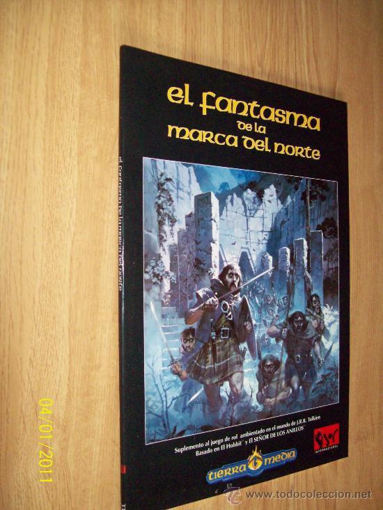 LIBRO DE ROL - EL FANTASMA DE LA MARCA DEL NORTE - ED. JOC 1996 - RUSTICA (Juguetes - Rol y Estrategia - Juegos de Rol)