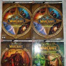 Juegos Antiguos: WORLD OF WARCRAFT- 4 LIBROS GUIA.. Lote 25599869